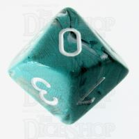 Chessex Marble Oxi-Copper D10 Dice