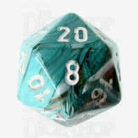 Chessex Marble Oxi-Copper D20 Dice