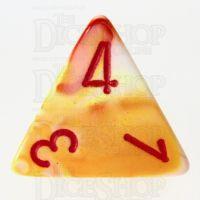 Chessex Festive Sunburst D4 Dice