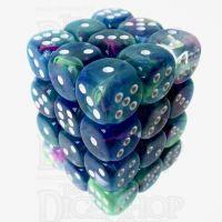 Chessex Festive Waterlily 36 x D6 Dice Set