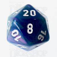 Chessex Festive Waterlily D20 Dice