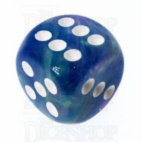 Chessex Festive Waterlily 16mm D6 Spot Dice