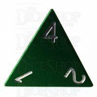 TDSO Aluminium Precision Green Dragon D4 Dice