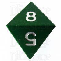 TDSO Aluminium Precision Green Dragon D8 Dice
