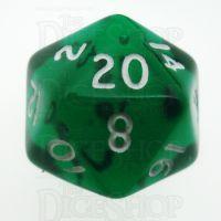 D&G Gem Green D20 Dice