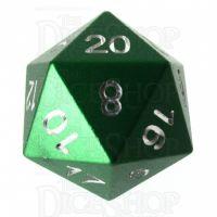 TDSO Aluminium Precision Green Dragon D20 Dice