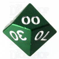 TDSO Aluminium Precision Green Dragon Percentile Dice