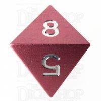 TDSO Aluminium Precision Pink Dragon D8 Dice