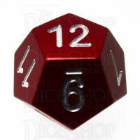 TDSO Aluminium Precision Red Dragon D12 Dice