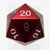 TDSO Aluminium Precision Red Dragon D20 Dice