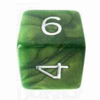 Role 4 Initiative Emerald Dragon Shimmer D6 Dice
