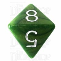 Role 4 Initiative Emerald Dragon Shimmer D8 Dice
