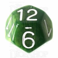 Role 4 Initiative Emerald Dragon Shimmer D12 Dice