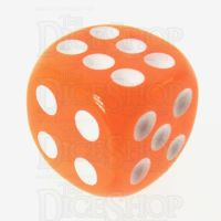 TDSO Bright Fire Opal 16mm D6 Spot Dice