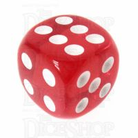 TDSO Bright Ruby 16mm D6 Spot Dice