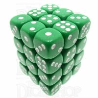 TDSO Opaque Green 36 x D6 Dice Set