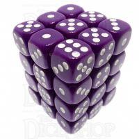 TDSO Opaque Purple 36 x D6 Dice Set