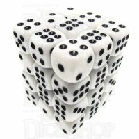 TDSO Opaque White 36 x D6 Dice Set