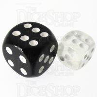 TDSO Bright Gem Diamond 12mm D6 Spot Dice