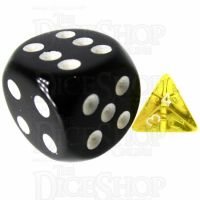 TDSO Bright Gem Citrine MINI 10mm D4 Dice