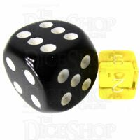 TDSO Bright Gem Citrine MINI 10mm D6 Dice