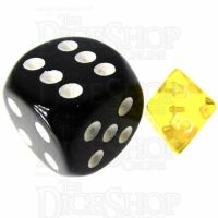 TDSO Bright Gem Citrine MINI 10mm D8 Dice