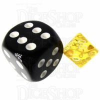 TDSO Bright Gem Citrine MINI 10mm Percentile Dice