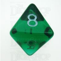 D&G Gem Green D8 Dice