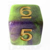 TDSO Galaxy Shimmer Royal Viper D6 Dice