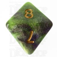 TDSO Galaxy Shimmer Royal Viper D8 Dice