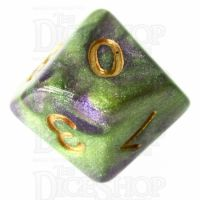 TDSO Galaxy Shimmer Royal Viper D10 Dice