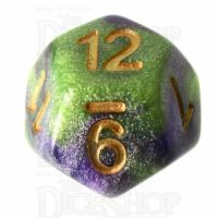 TDSO Galaxy Shimmer Royal Viper D12 Dice