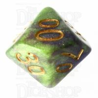 TDSO Galaxy Shimmer Royal Viper Percentile Dice