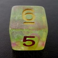 TDSO Luminous Dragons Breath D6 Dice