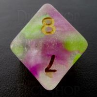 TDSO Luminous Dragons Breath D8 Dice