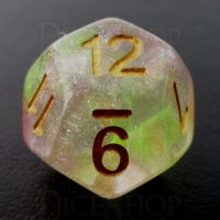 TDSO Luminous Dragons Breath D12 Dice