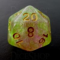 TDSO Luminous Dragons Breath D20 Dice