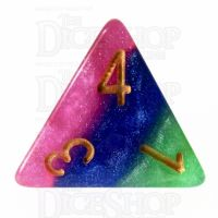 TDSO Layer Jesters Gambit D4 Dice