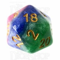 TDSO Layer Jesters Gambit D20 Dice
