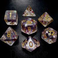 TDSO Confetti Royal Star 7 Dice Polyset
