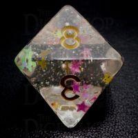 TDSO Confetti Circus Star D8 Dice