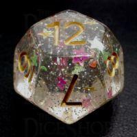 TDSO Confetti Circus Star D12 Dice