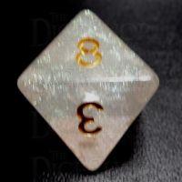 TDSO Confetti Mist Star D8 Dice