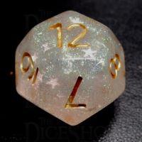TDSO Confetti Mist Star D12 Dice