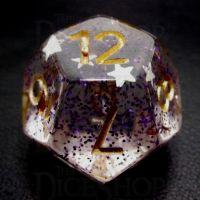 TDSO Confetti Royal Star D12 Dice