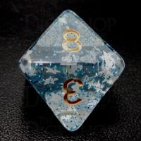 TDSO Confetti Sea Star D8 Dice