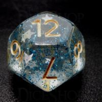 TDSO Confetti Sea Star D12 Dice