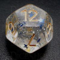 TDSO Confetti Sky Star D12 Dice
