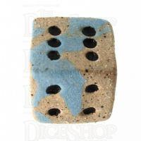 Crit Hit Ceramic Poseidans Gift 6 Spot Dice EXCLUSIVE