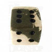 Crit Hit Ceramic Ancient Oasis 6 Spot Dice